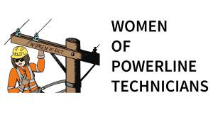 Women of Powerline Technicians Logo